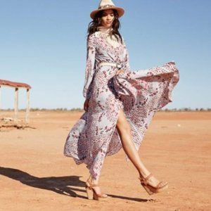Spell and the Gypsy Pandora Gown Aquarium XS